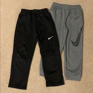 Two pairs of Nike Dri-Fit joggers
